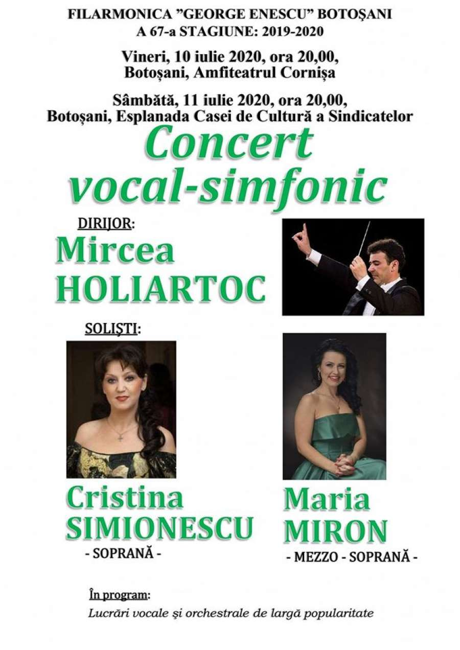 CONCERT VOCAL-SIMFONIC
